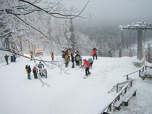 Сигулда главный горнолыжный курорт Латвии