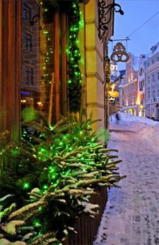 новогодние и рождественские мероприятия в Риге 2011 - 2012