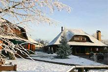 Зимние каникулы на лыжном курорте Сигулда, Латвия