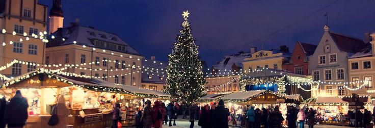 Суточные цены в Таллинне на Новый год, от 2 ночей