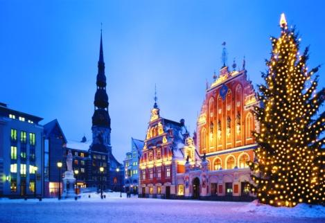 Экскурсионные туры на Новый год и Рождество - Новогодний Гранд Тур по Прибалтике