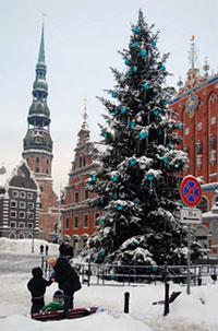 Экскурсионные туры на Новый год и Рождество - Рига - Рундальский дворец